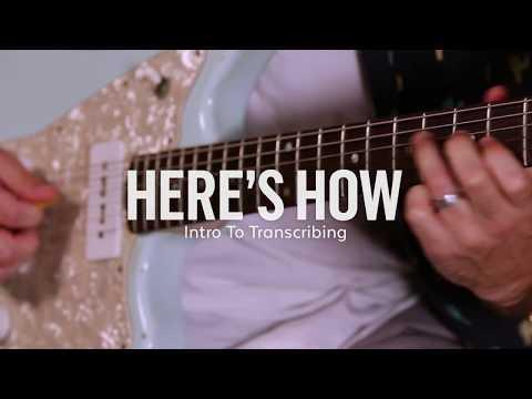 Intro To Transcribing