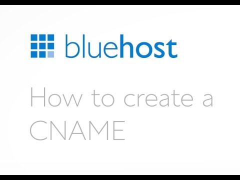 How to create a CNAME.