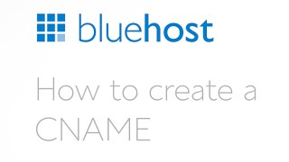 How to create a CNAME.