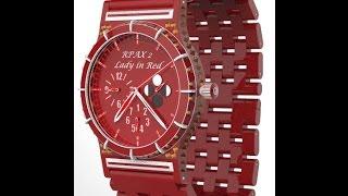 Часы наручные женские  RPAX 02 Lady in Red(Часы наручные женские RPAX 02 Lady in Red (Девушка в красном): Часы: Механические, ударопрочные, с отображением време..., 2015-09-30T06:36:37.000Z)