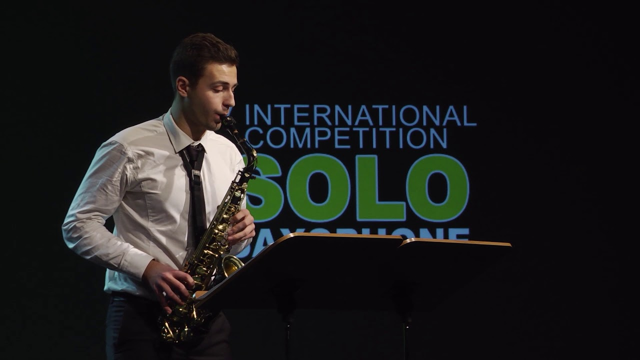 DANYLO DOVBYSH - 2nd ROUND - V ANDORRA INTERNATIONAL SAXOPHONE COMPETITION 2018