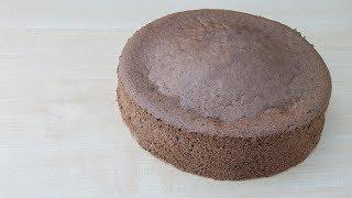 Шоколадный бисквит - по моему проверенному рецепту