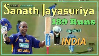 Best of Sanath Jayasuriya (189 Runs-Career Highest Score) | Ja…