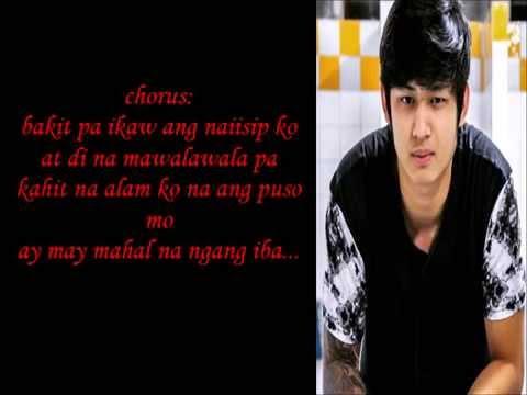 Bakit Ba Ikaw (minus One with lyrics) -  Michael Pangilinan