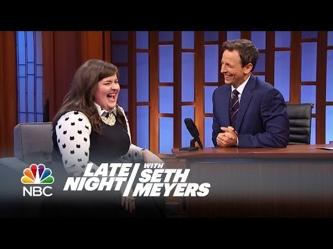 Aidy Bryant on Working with Seth - Late Night with Seth Meyers ...
