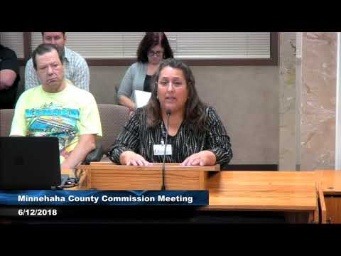 Minnehaha County Commission Meeting - June 12th, 2018