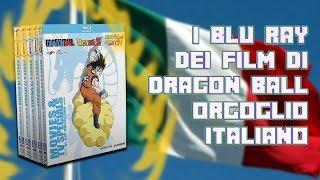 I BLURAY UFFICIALI DI DRAGON BALL SONO ITALIANI