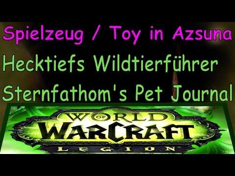 WoW - Toy - Hecktiefs Wildtierführer / Sternfathom's Pet Journal