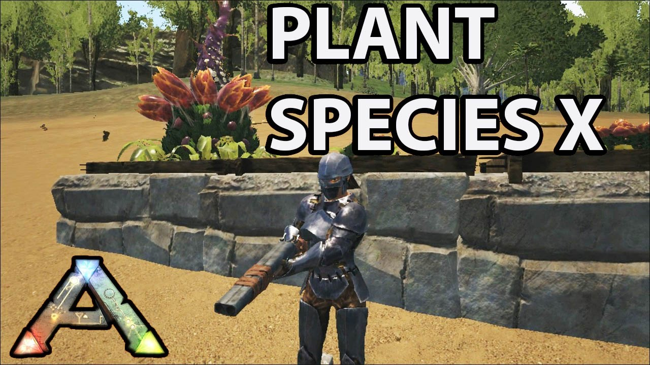 Plant species x ark survival evolved center map s1 ep 30 for Plante x ark