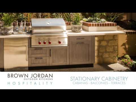 Brown Jordan Outdoor Kitchens Hospitality