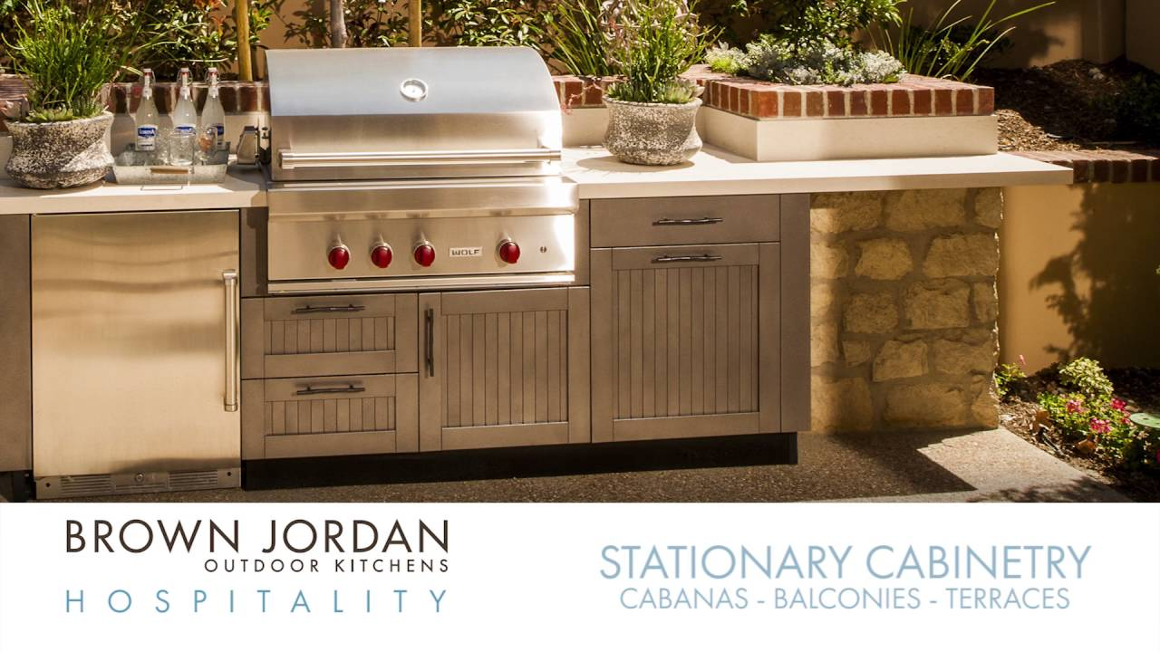 brown jordan outdoor kitchens off grid brown jordan outdoor kitchens hospitality youtube