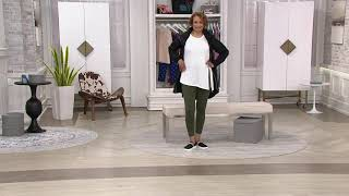 zuda Z-Stretch Momentum Ankle-Length Leggings on QVC