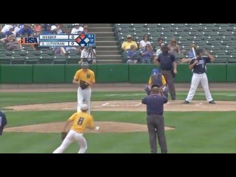 2014 IHSA Boys Baseball Class 1A Championship Game: Crete (Illinois Lutheran) vs. Bluford (Webber)