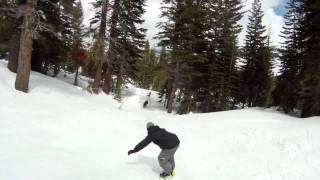 Kirkwood Snowboarding Gopro