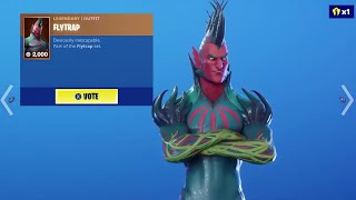 So I Voted for a Skin in Fortnite... (NEW VOTING SYSTEM)