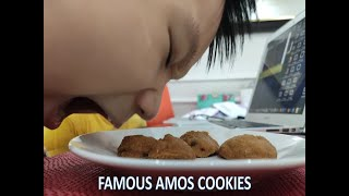 Winning formula : Famous Amos (less sugar) Cookies Recipe right here!