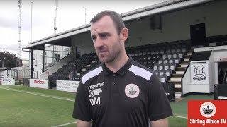Dave Mackay Post Match Interview Vs Elgin City 01/09/18