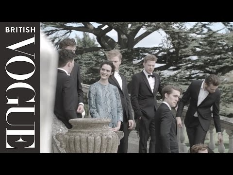 On Set with the Cast of the Riot Club: The Posh Test  All Access Vogue  British Vogue