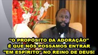 """""""CRUCIFICAR A CARNE""""! A VERDADEIRA ADORAÇÃO DE JESUS AO PAI EM ISAÍAS 53 - PROFETA DAVID OWUOR"""