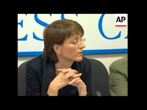 Amnesty International news conference on human rights in Russia