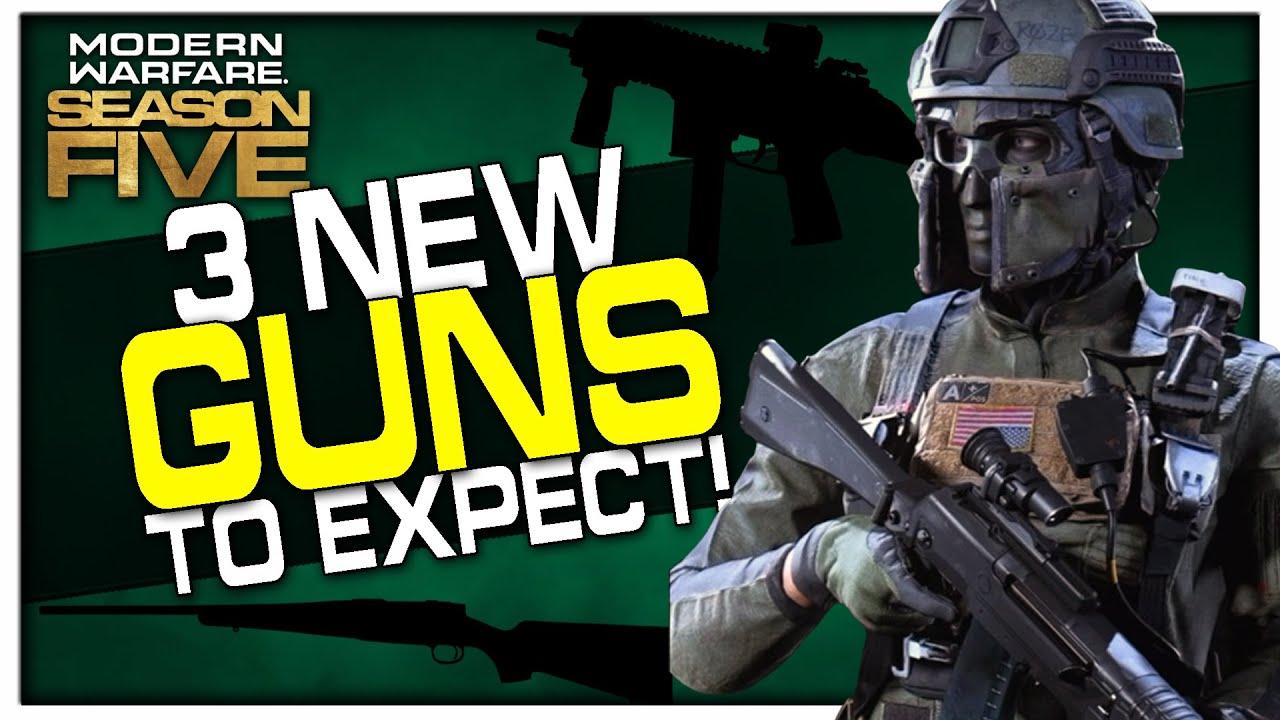 New Guns Faction Map Changes Coming Modern Warfare Season 5 Trailer Youtube