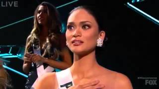 Miss Universe Crowned Wrong 2015