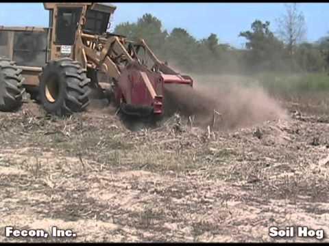 Soil Milling - Silviculture - Soil Hog - Fecon