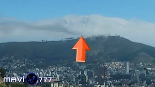 vuclip Symbol of satanism, double horned goat shaped cloud seen in South Africa! June 11,2019
