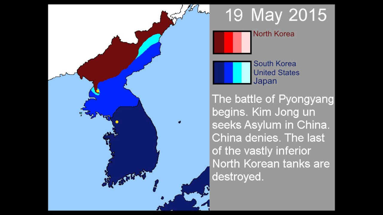Hypothetical wars second korean war youtube gumiabroncs Choice Image