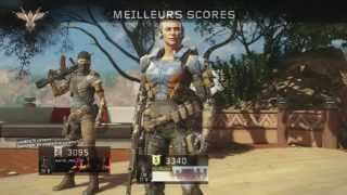 COD Black ops 3 / BETA / Hunted / Multiplayer / Découverte / PS4