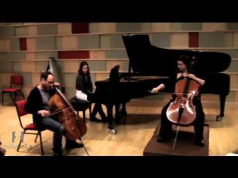 Gary Hoffman Master Class: Elgar Cello Concerto Mvt. 1 & 2