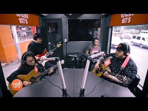 "Mayonnaise performs ""When It Rains"" (Paramore) LIVE on Wish 107.5 Bus"