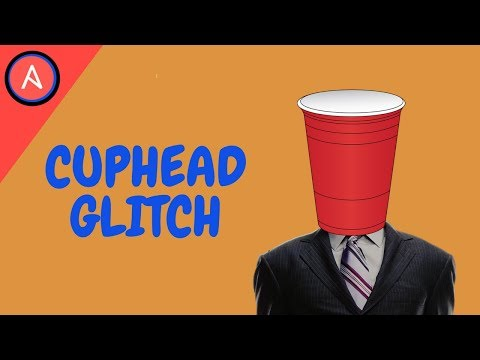 Cuphead: how to defeat the DEVIL in the first phase GLITCH (easy expert mode)