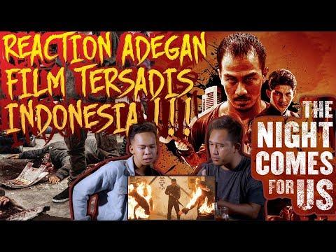 SI PENAKUT REACTION ADEGAN SADIS FILM THE NIGHT COMES FOR US !! Kalian Juga Gak Akan Sanggup!!!