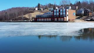 Thin Ice on Dartmouth Lakes. Part 1: Lake Banook | Mavic 2 Pro | 4K UHD