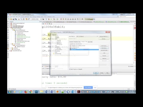 JUnit testing - org junit does not exist in Netbeans