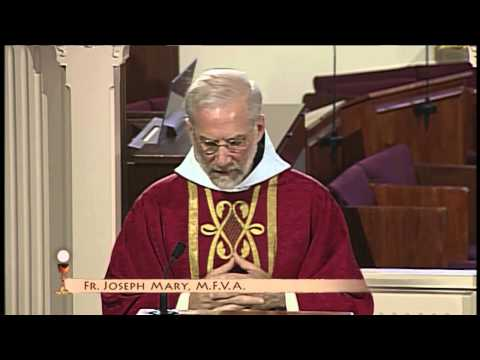 Daily Catholic Mass - 2015-06-11 - Fr. Joseph Mary