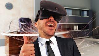 COMMENT DEVENIR LE PATRON ! - Job Simulator HTC Vive