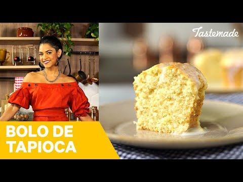 BOLO DE TAPIOCA da Lucy Alves  Receitas Juninas