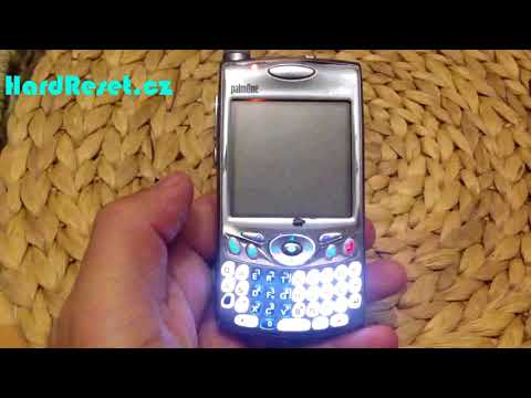 Factory Hard Reset PDA Palm Treo 650