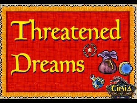 Tibia - Threatened Dreams (Blossom Bag, Shining Sun Catcher, Moon Mirror e Gleaming Starlight Vial)