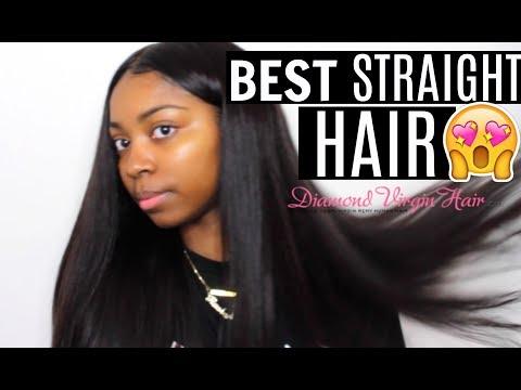 Diamond Hair Company| Mink Brazilian Straight| BEST STRAIGHT HAIR EVER!!!