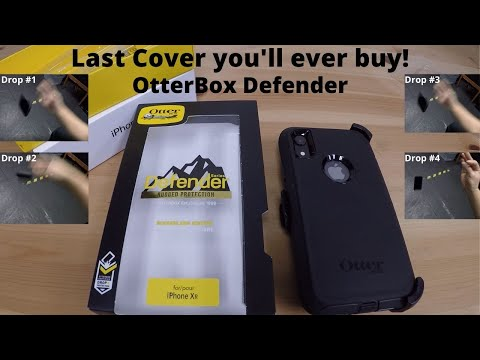 How to Install OtterBox Defender on Iphone XR