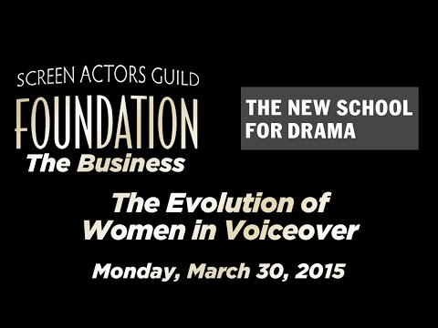 The Business: Evolution of Women in Voiceover
