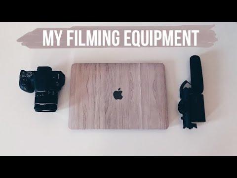 MY FILMING SETUP & EQUIPMENT | CAMERA, TRIPOD, LAPTOP