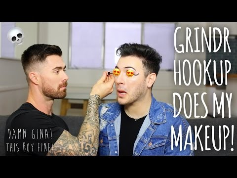Thumbnail: Grindr Hookup Does My Makeup! With Kyle Krieger!