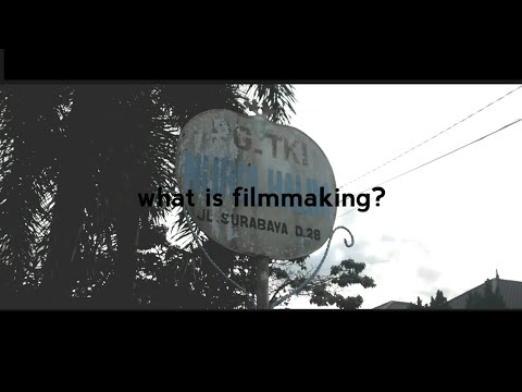What is filmmaking? [Indonesia Language]