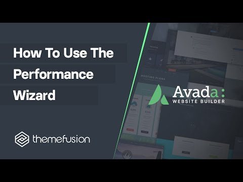 How To Use The Performance Wizard Video