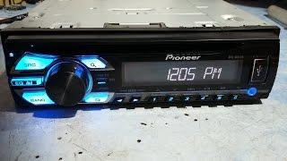 Pioneer DEH-1580UB 'amp error' adaptando PAL012 pelo TDA7560