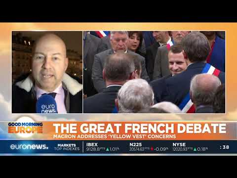 The Great French Debate: Macron addresses 'Yellow Vest' concerns | #GME